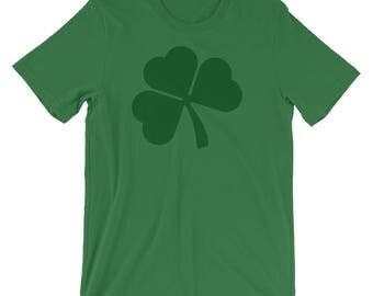 Shamrock Shirt- St Patricks Day Tee- St Patricks Day Shirt- Shamrock Tshirt- Irish T Shirt