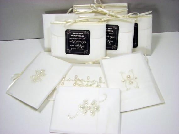 A Set of 10 Gift Tissues in velum envelopes - GT