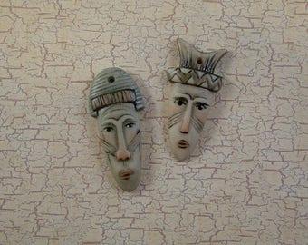Mask Embellishment set of 2