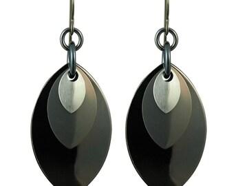 Monochrome Musings Earrings