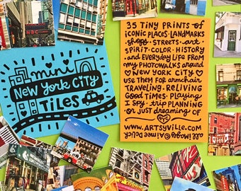 New York City Mini Tiles (Photo Mix #1)