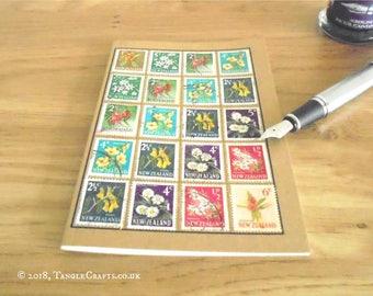 New Zealand Native Flowers Notebook - Garden, Planting or Travel Journal