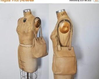 SALE Coach Tan Beige Bag / Pebbled leather / SONOMA Satchel purse