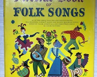 Fireside Book of Folk Songs for Piano with Guitar Chords - Margaret Bradford Boni