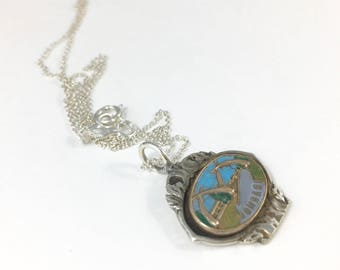 Mombasa Necklace, Mombasa Jewelry, Mombasa Charm, Mombasa Souvenir, Mombasa Gift, Kenya Jewelry, Spoon necklace, Spoon Jewelry, Wife Gift
