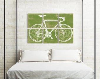 Bicycle Lovers Gift - Bicycle Gift for Her - Road Cyclist - Road Bike Wall Art - Wall Art Bicycle - Bicycle Print Decor - Bicycle Lover Gift