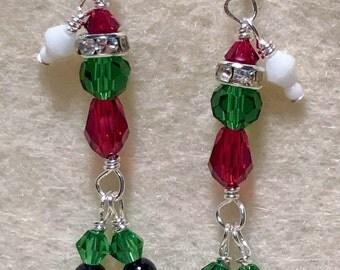 Mr. Grinch Earrings FREE SHIPPING