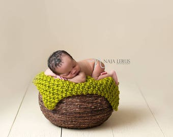 Knit Baby Blanket Pattern, Knit Pattern Baby Blanket, Newborn Blanket Knit Pattern Blanket, Knit Newborn Photo Props, Newborn Wrap Pattern