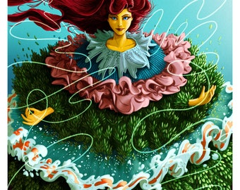 Mother of Nature - Art Print