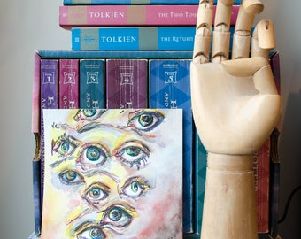 Eye Watercolor Painting