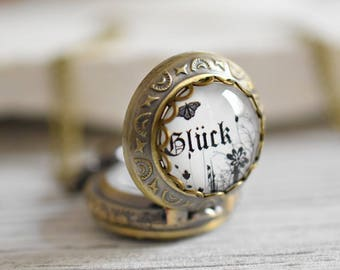 Luck Bronze Locket Watch