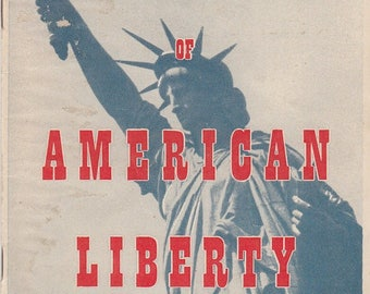 Landmarks of American Liberty 1950 Booklet Compliments of J C Penney Company