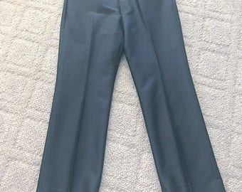 Men's Vintage Western Dress Pants Slacks by Circle S -- Size 38-32