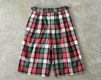 preppy plaid ralph lauren shorts - 1211479