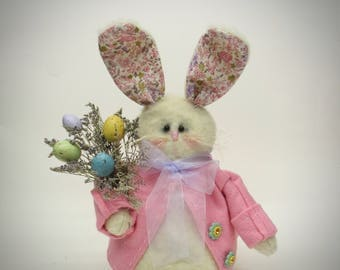 Stuffed Easter Bunny | Rabbit decor | Easter bunny decoration | Easter decoration | Spring home decor | Easter decor | Spring decoration