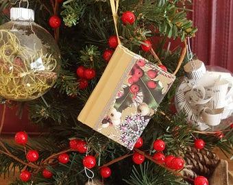 Handbound Journals Book Ornaments Guest by PaperChocolatePress