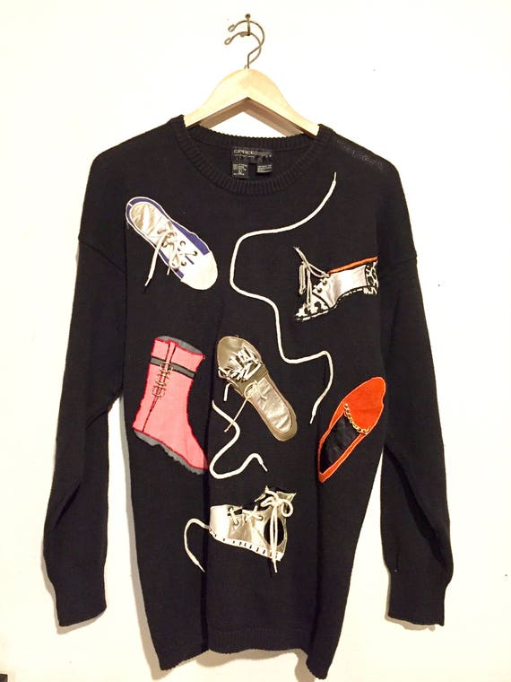 Funky Shoe Sweater