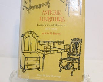 Antique furniture Explained and Illustrated 1501-1901 by K.W.M. Bowers