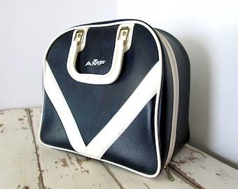 Vintage Bowling Ball Bag