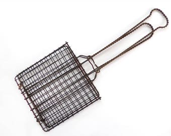 Small Metal Grilling Basket