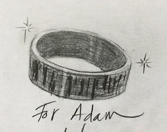 Custom Ring for Adam