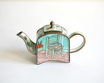 Miniature Van Gogh's Chair Teapot