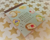 90 Pc. Kawaii Haripan Mini Memo Pad Stationery, Homework, School, Paper Supplies, Snail mail, Notes, Scrapbooking, Packing Slips.