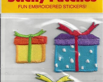Vintage Mrs. Grossman's Sticky Patches Presents Embroidered Stickers, 1990s