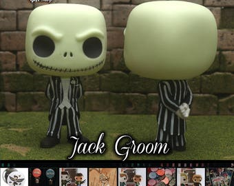 NBC Jack Wedding Groom - Custom Funko pop toy