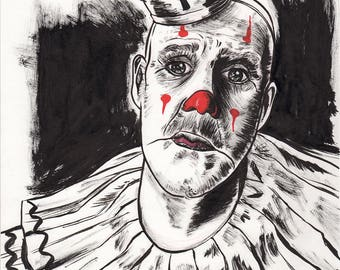 Puddles Pity Party Painting