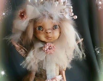 Half-dragon half-elfe Maylyn  - Ooak art doll by Lightleaf Studio