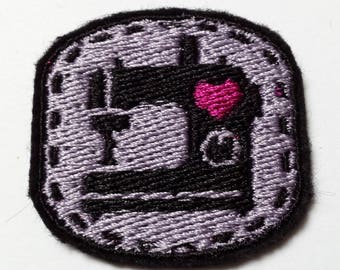 Sewing Machine Lover Embroidered Patch