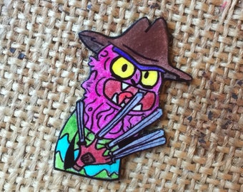 Scary Terry pin badge.....bitch