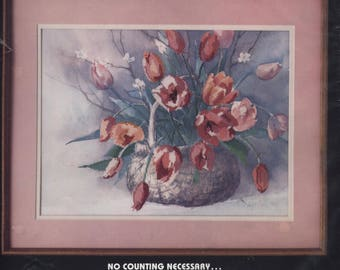 Spring Tulips No-Count Counted Cross-Stitch Kit