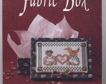 Love Fabric-Covered Box Counted Cross-Stitch Kit