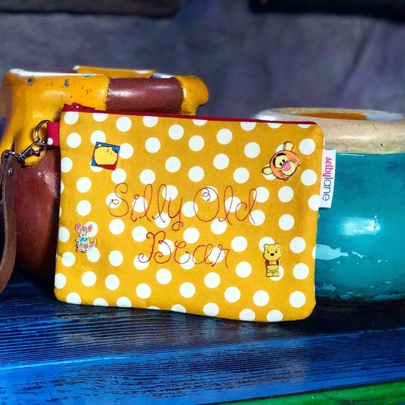 Winnie the Pooh Inspired Disney Wristlet
