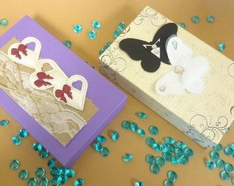 Money Gift Box,Cash Box, Wedding Birthday Gift