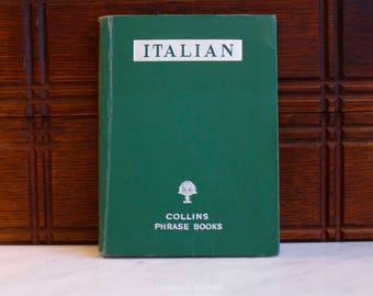 Italian Phrase Book Collins