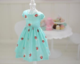 Lovely Little Tea Party Dress for Blythe by Sweet Petite Shoppe