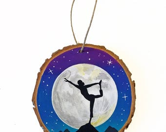 Yoga ornament  Etsy