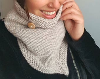 Super soft COWL in Merino wool