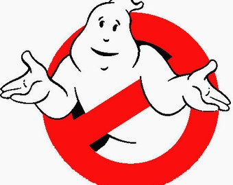 Ghostbusters Embroidered Iron On Patch