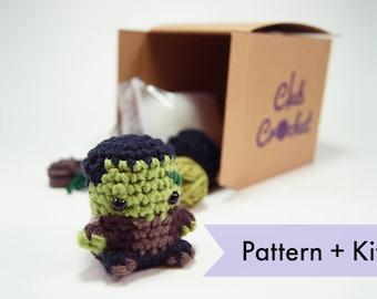 Frankenstein Amigurumi Crochet Kit    Club Crochet Kits