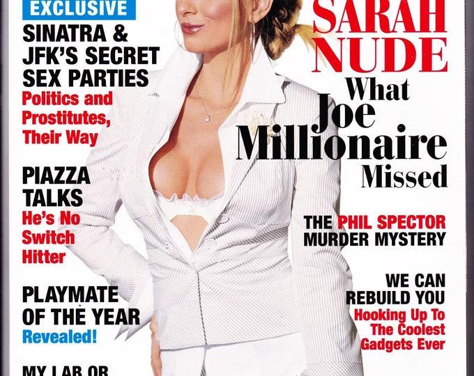 Playboy Magazine June 2003 with Joe Millionaire Sarah Kozer, New York Mets Mike Piazza, Rapper Nelly