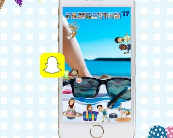 Vacation Snapchat GeoFilters, Family Getaway Snapchat Filter, Party Snapchat Filter, Snapchat GeoFilter, Famcation Geofilter, Bitmoji Filter