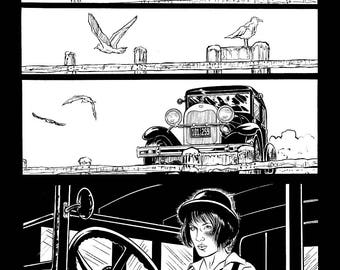 Original Art Page, 1 from The Tommy Gun Dolls Vol. 1 SIGNED