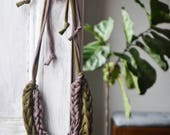 DIY Cotton Necklace Kit | Learn How To Finger Knit