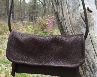 Deerskin Leather Cross Body Purse