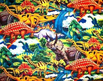 Child's Long Sleeve Art Smock -  Dinosaurs