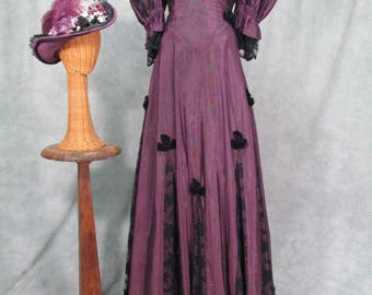 1860s Dress Costume Ball Gown Rental Quality Nostalgia Costume House